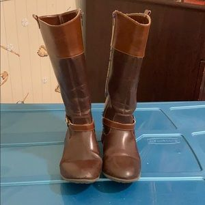 Tommy Hilfiger Leather Boots, youth girls size 4